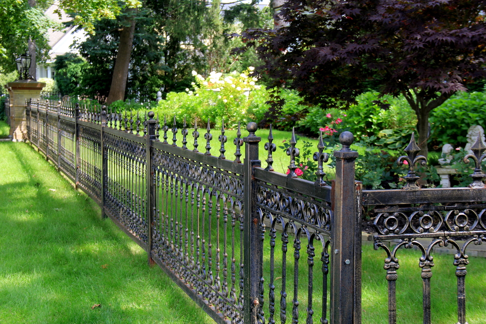 myths wrought iron fencing