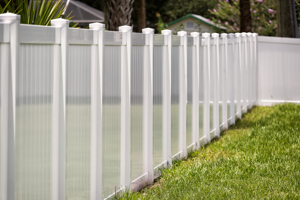 fence combining privacy views