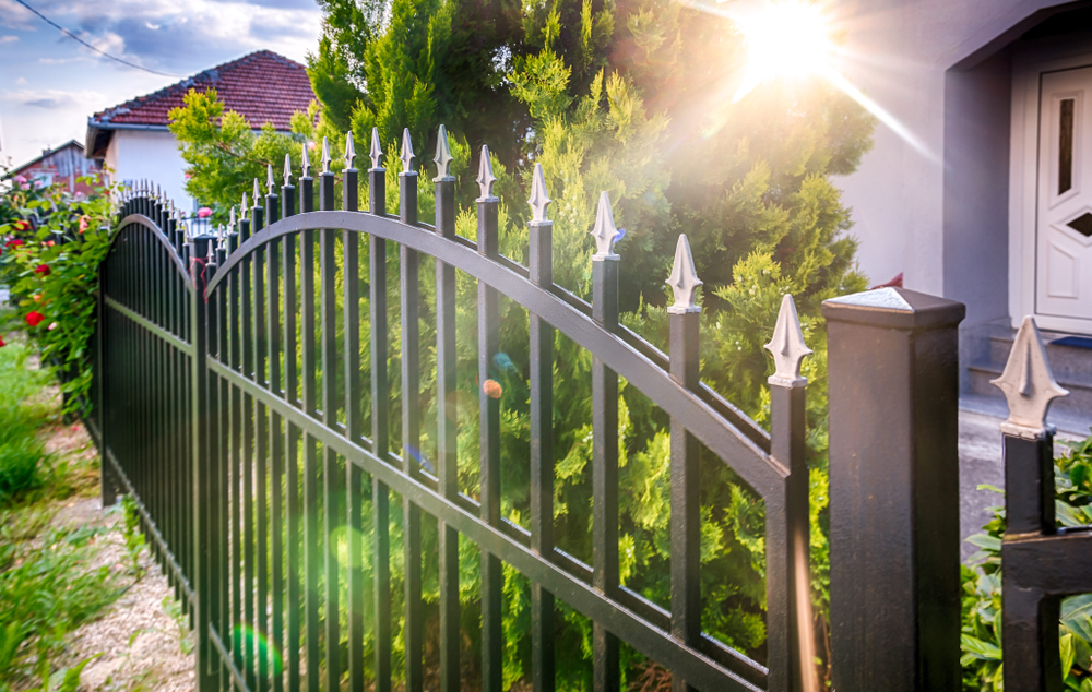 iron fence security safety
