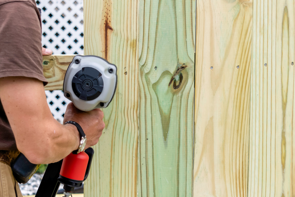 wood fence care sealing